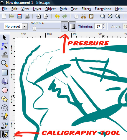 how to get pen pressure to work in sai