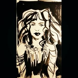Inktober Witch