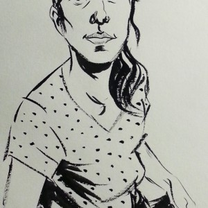 Inktober Portrait
