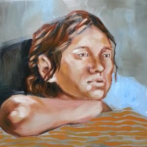 Portrait oilpainting